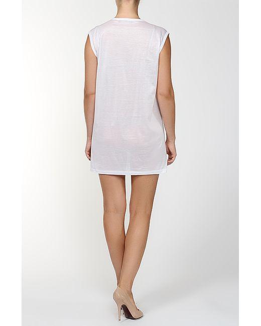 Платье Джерси Balenciaga                                                                                                              белый цвет