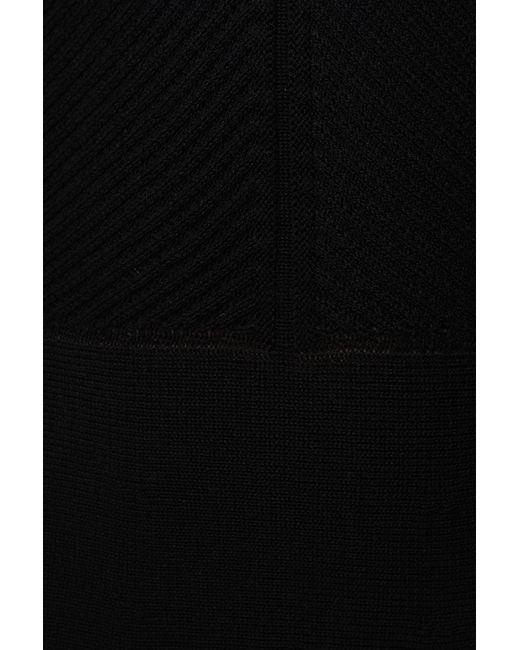 Платье Вязаное Valentino                                                                                                              чёрный цвет