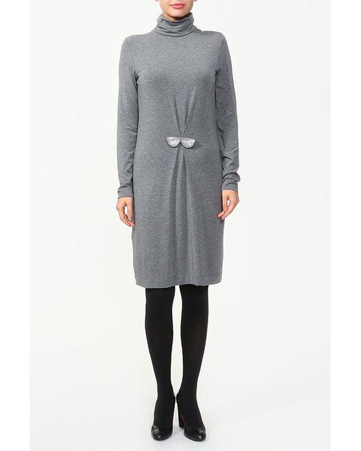 Платье Love Moschino                                                                                                              серый цвет