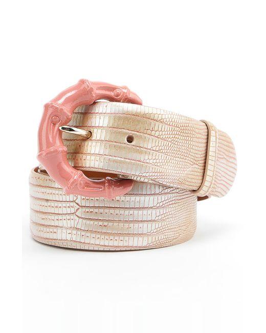 Ремень Ralph Lauren                                                                                                              розовый цвет