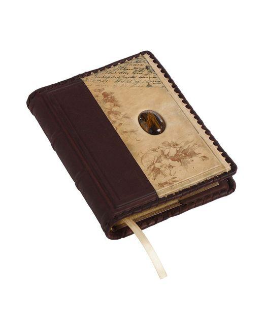 Ежедневник А6 Арт-ателье «Кажан»                                                                                                              коричневый цвет