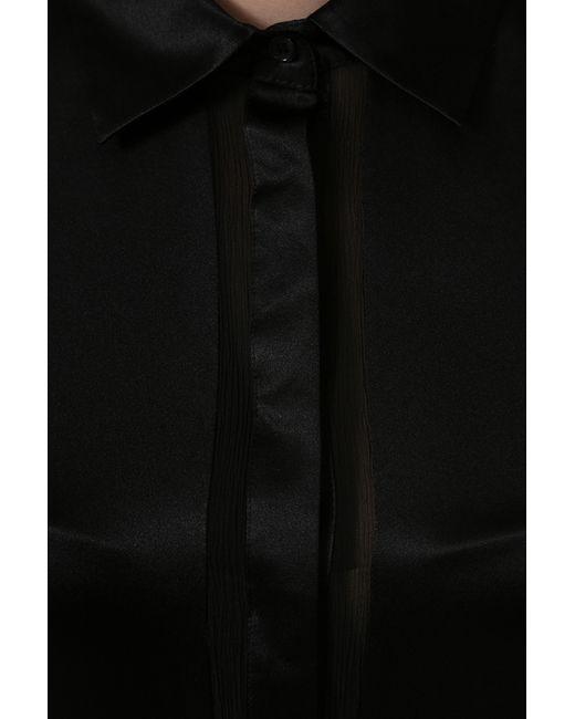 Рубашка Bebe                                                                                                              чёрный цвет