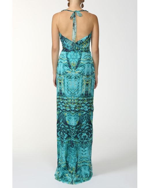 Платье Alberta Ferretti                                                                                                              многоцветный цвет