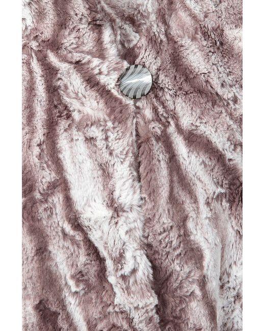 Искусственная Шуба Queen Size                                                                                                              серый цвет