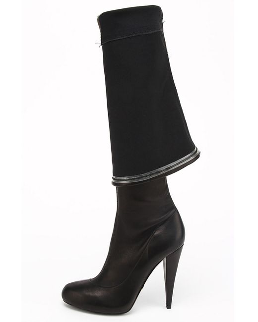 Сапоги Roberto Cavalli                                                                                                              чёрный цвет