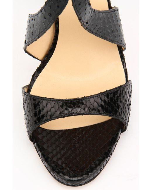 Босоножки Ducсio Venturi Bottier                                                                                                              чёрный цвет