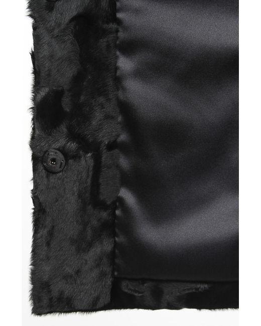 Шуба Izeta                                                                                                              чёрный цвет