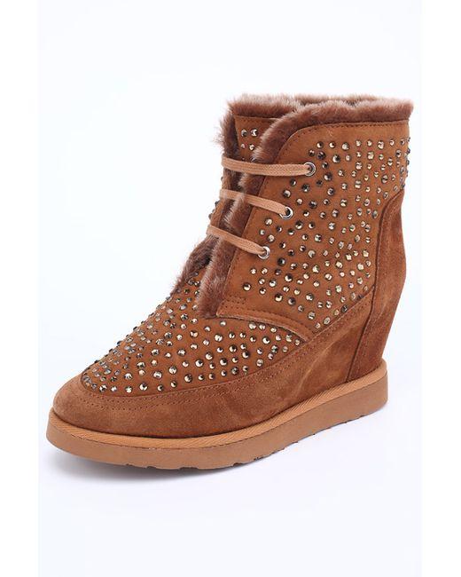 Ботинки Grand Style                                                                                                              оранжевый цвет
