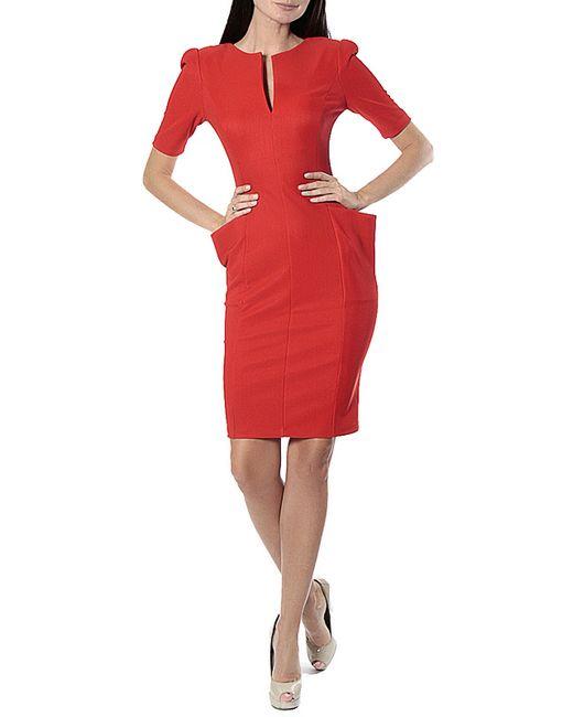 Платье Diva                                                                                                              оранжевый цвет