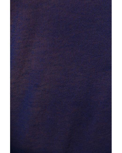 Пуловер Вязаный Maison Margiela                                                                                                              синий цвет