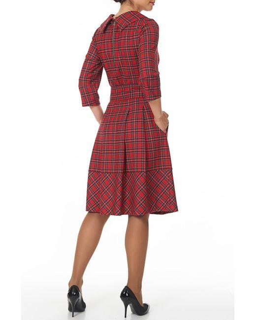 Платье С Поясом Argent                                                                                                              красный цвет