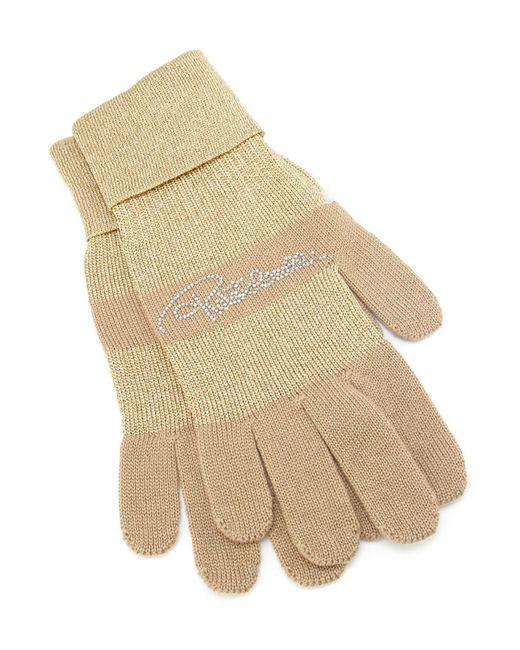 Перчатки Roberto Cavalli                                                                                                              бежевый цвет
