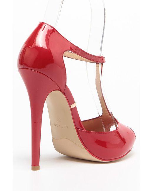 Туфли Elmonte                                                                                                              красный цвет