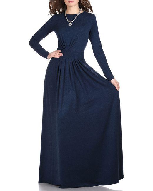 Платье Grey Cat                                                                                                              синий цвет