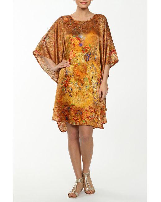 Туника Удлиненная Frantelli                                                                                                              коричневый цвет