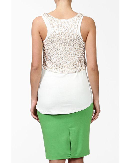 Блузка Sela                                                                                                              бежевый цвет