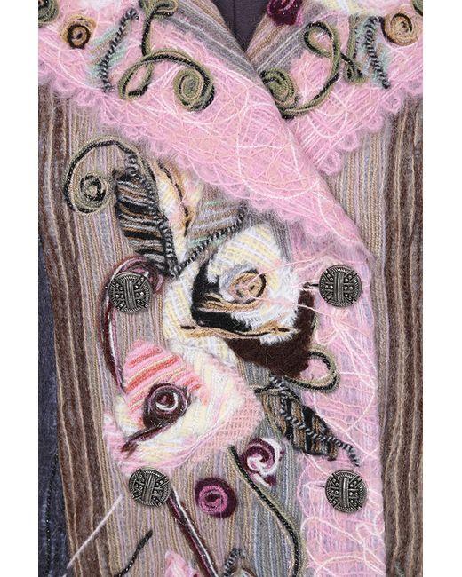 Пальто Yuko-Selena                                                                                                              розовый цвет