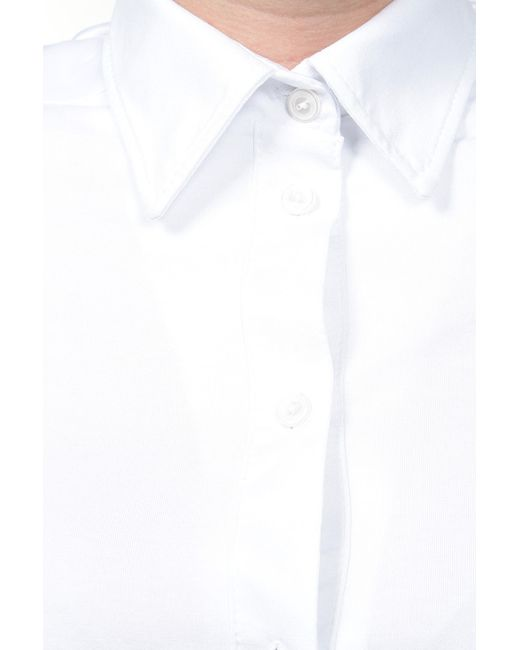 Блуза LINA                                                                                                              белый цвет