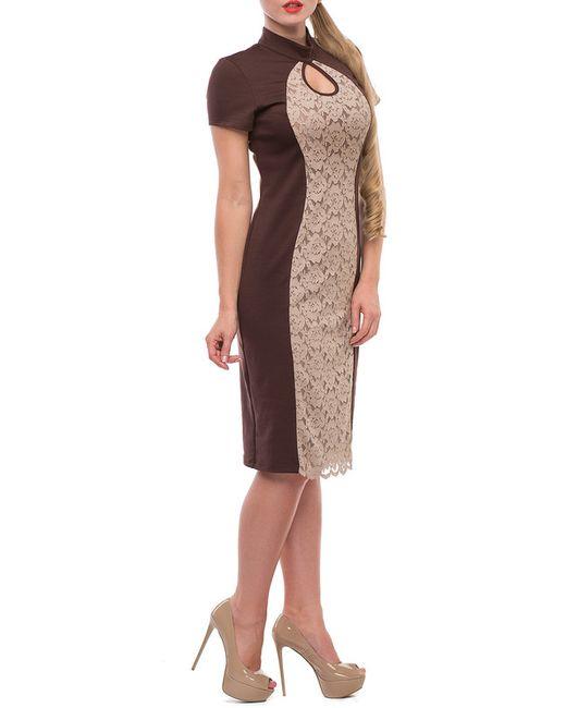 Платье Петербургский Швейный Дом                                                                                                              коричневый цвет