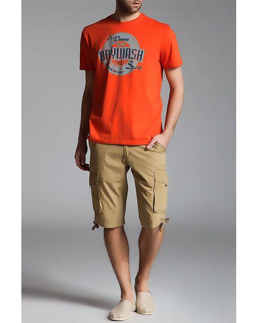 Футболка DRYWASH                                                                                                              оранжевый цвет