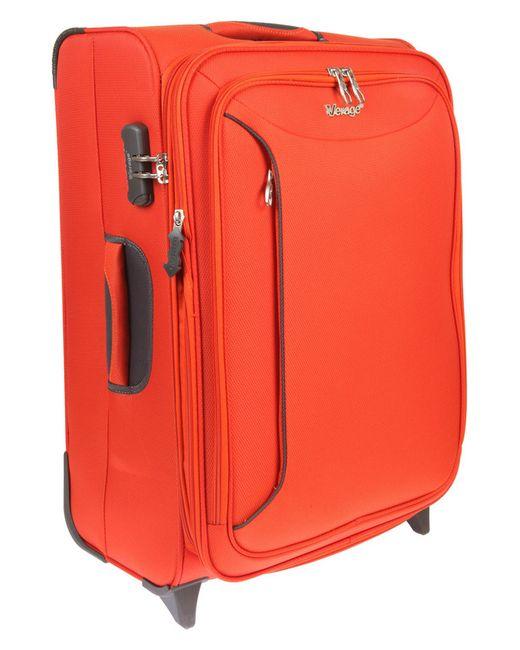 Чемодан-Тележка Verage                                                                                                              оранжевый цвет