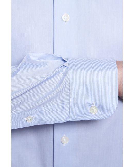Рубашка Dormeuil                                                                                                              голубой цвет