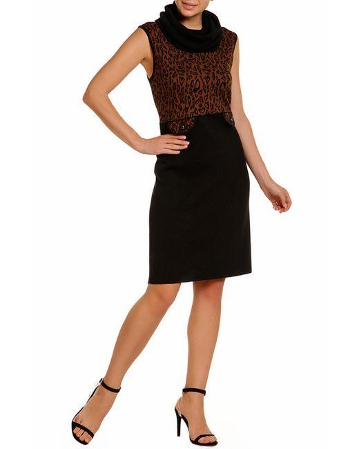 Платье Luisa Spagnoli                                                                                                              чёрный цвет