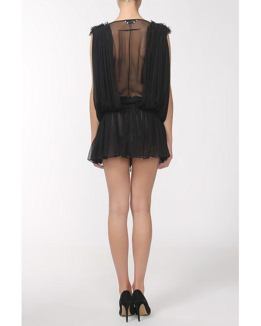 Платье Givenchy                                                                                                              чёрный цвет