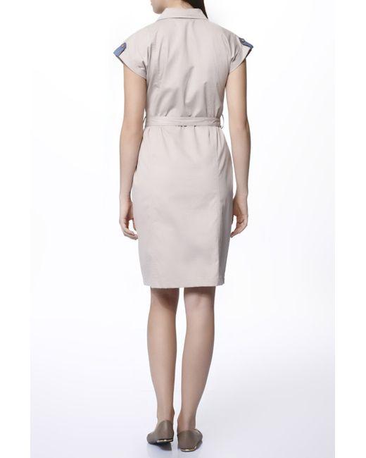 Платье Relax Mode                                                                                                              коричневый цвет