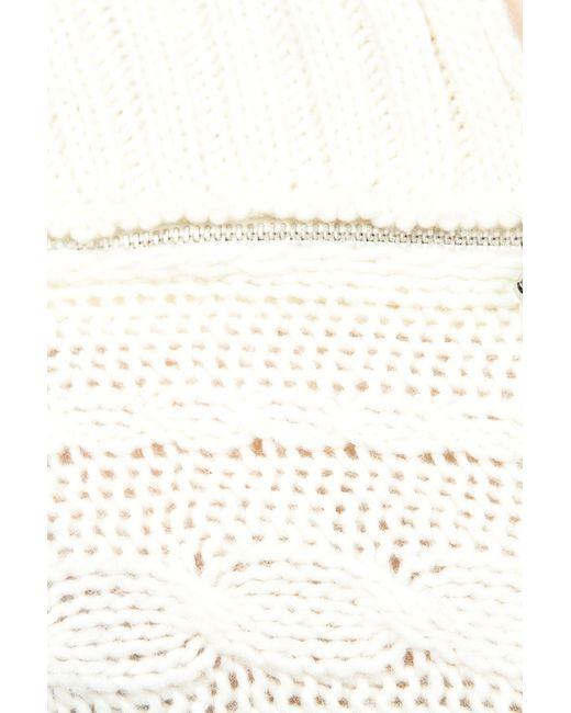 Джемпер Patrizia Pepe                                                                                                              белый цвет