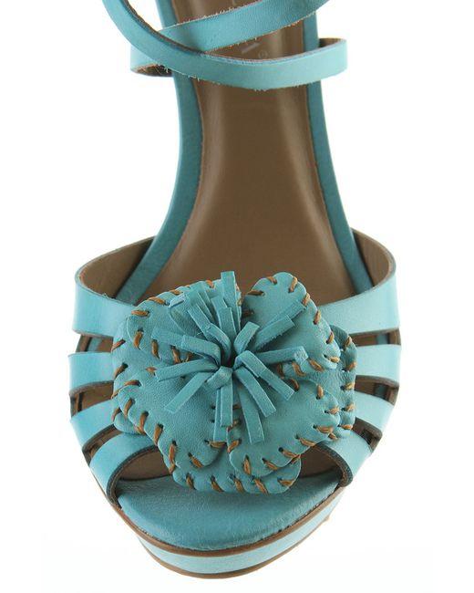 Туфли Tervolina                                                                                                              голубой цвет