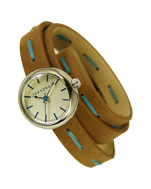 Часы Наручные Tokyobay                                                                                                              коричневый цвет