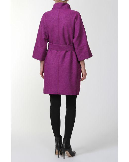 Пальто Амулет                                                                                                              фиолетовый цвет