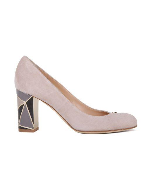 Туфли Renzi                                                                                                              серый цвет