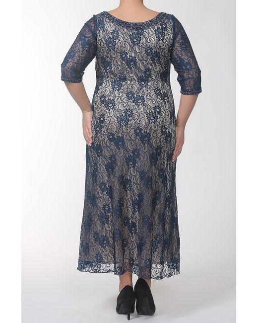 Платье Lia Mara                                                                                                              синий цвет