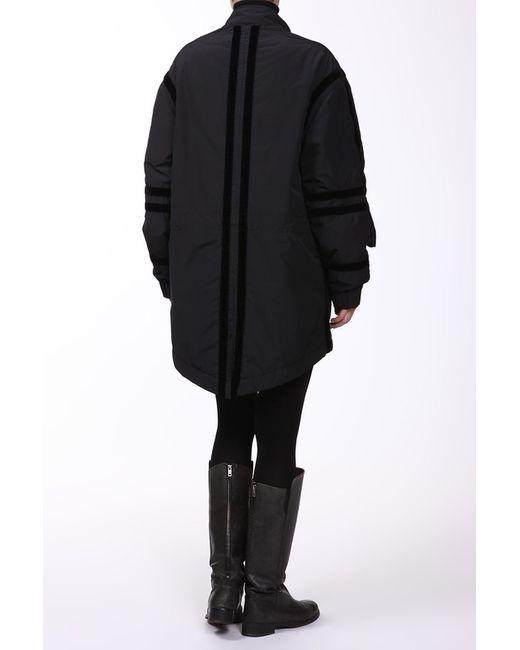 Куртка Alexander McQueen                                                                                                              чёрный цвет