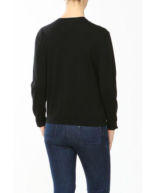 Пуловер Lacoste                                                                                                              чёрный цвет