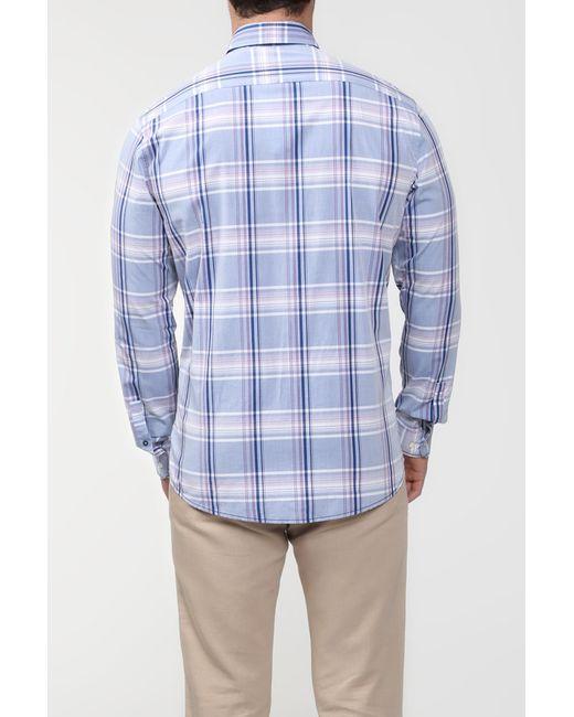 Рубашка Lacoste                                                                                                              фиолетовый цвет