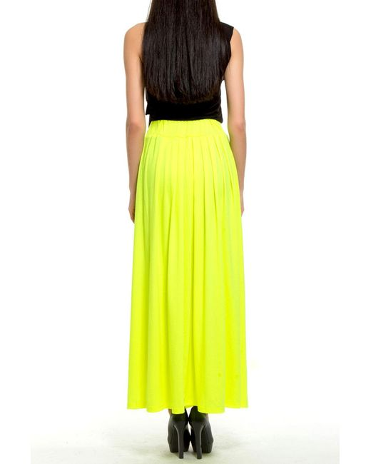 Юбка Majaly                                                                                                              желтый цвет