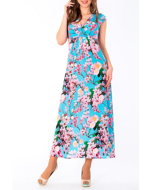 Платье S&A Style                                                                                                              голубой цвет