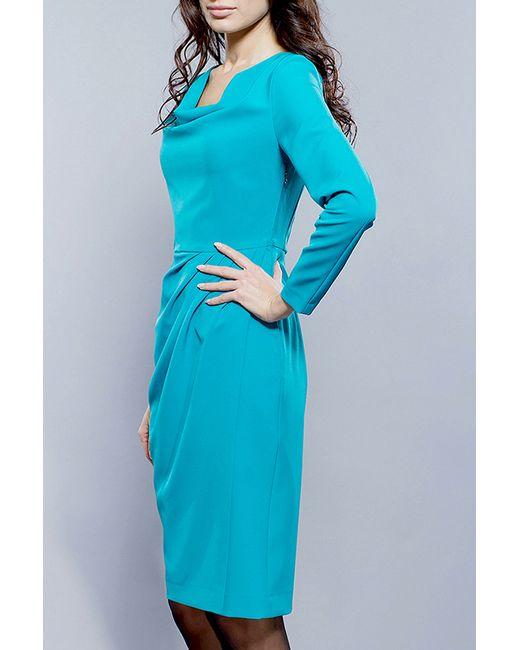 Платье BGL                                                                                                              голубой цвет