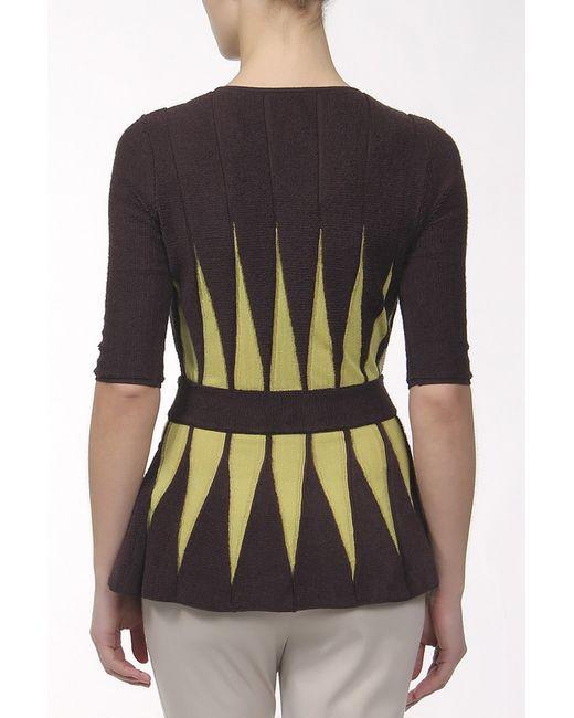 Пуловер Вязаный Missoni                                                                                                              коричневый цвет