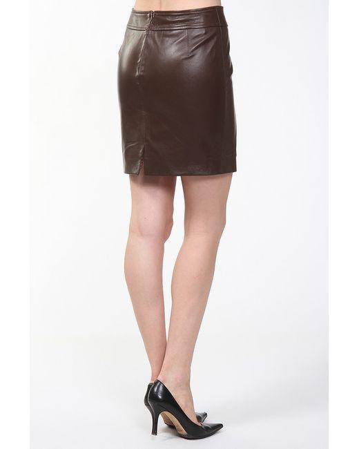 Юбка Izeta Street                                                                                                              коричневый цвет