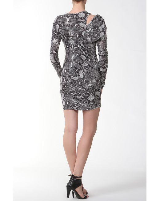 Платье Balmain                                                                                                              многоцветный цвет