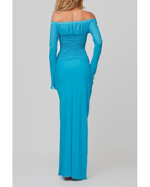 Платье FIFI LAKRES                                                                                                              синий цвет