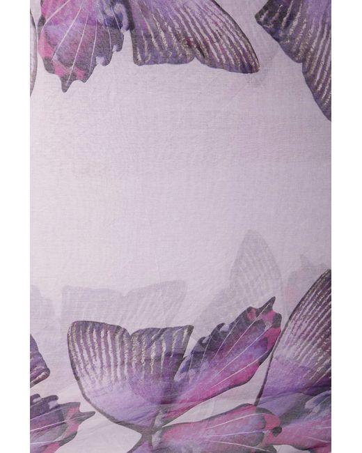 Палантин Fiona Fantozzi                                                                                                              фиолетовый цвет