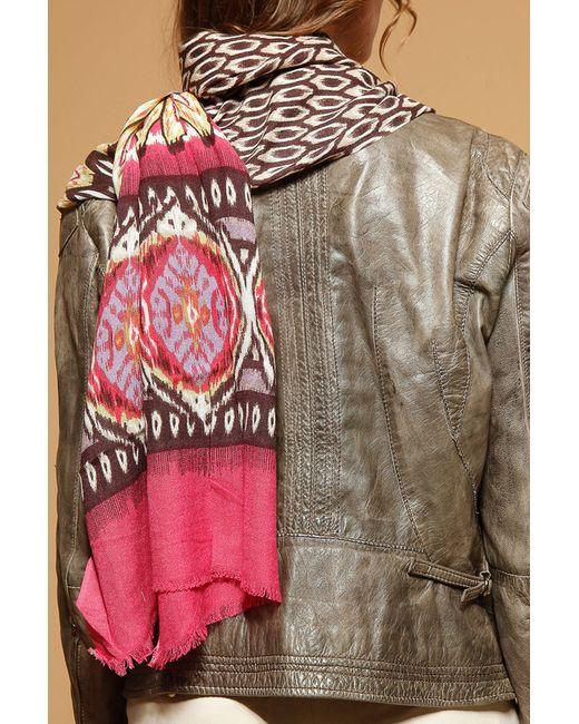 Шарф Laura Milano                                                                                                              розовый цвет