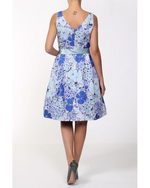 Платье MARIA COCA                                                                                                              синий цвет