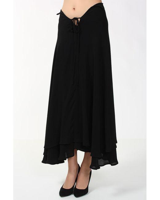 Юбка Yohji Yamamoto                                                                                                              чёрный цвет
