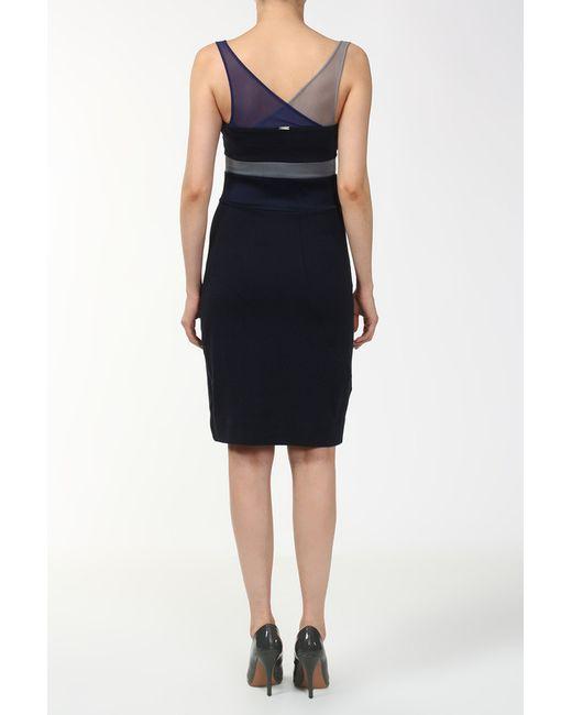 Платье Vpl                                                                                                              синий цвет
